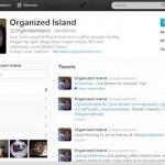 Organized Island Twitter