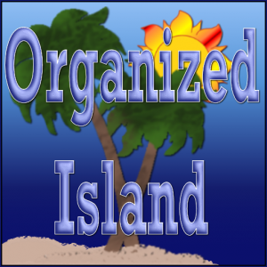 Organized Island Button