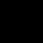 Organized Island Silhouette Logo